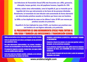 """La campaña """"Saca con Orgullo tu Salud"""" promueve la prevención de ITS en Andalucía"""