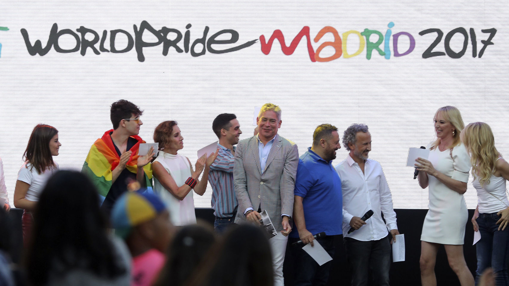 El Pregón Multitudinario del WorldPride Madrid