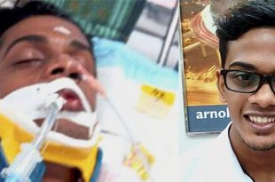 Muere el joven malasio Nhaveen