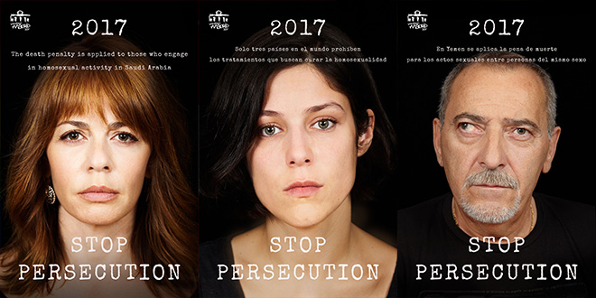 Rostros conocidos se suman a la campaña 'STOP Homofobia'