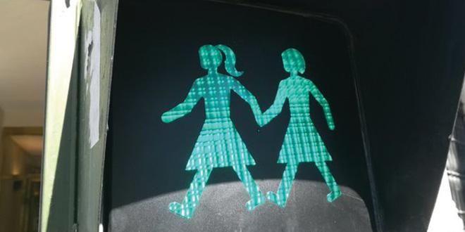 Madrid instala semáforos igualitarios