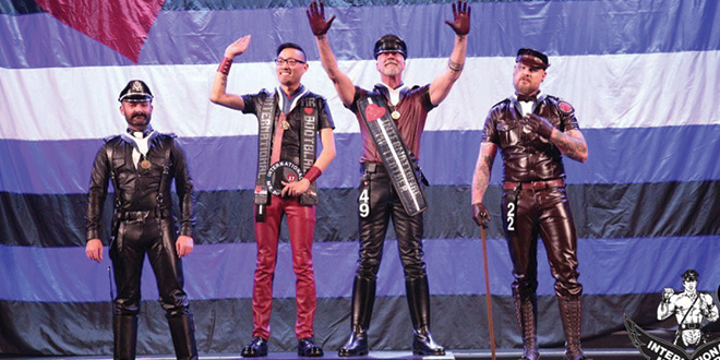 Photo of Ralph Bruneau nombrado International Mr. Leather 2017