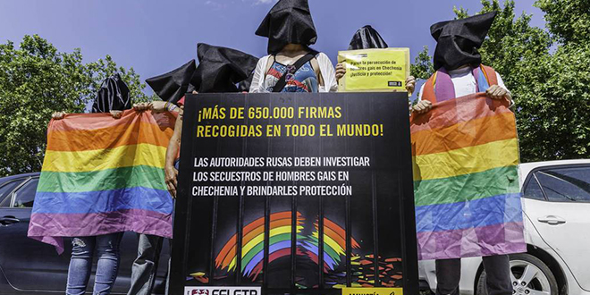 Photo of 27 personas asesinadas por ser gay o bisexual en Chechenia