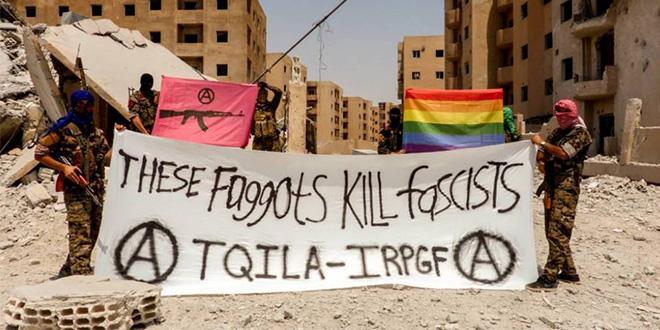 Photo of Ejército de Liberación e Insurreción Queer: «Estos maricas asesinan fascistas»