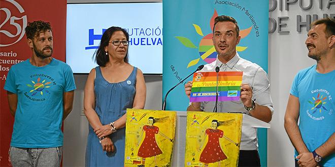 Punta Umbría celebra desde este lunes el III Encuentro de Mariliendres para dar visibilidad al colectivo LGBTI