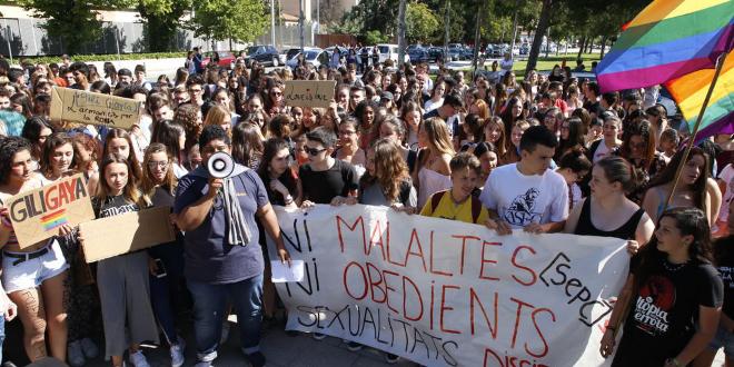 Se hace público el video que prueba la homofobia del profesor del instituto de Lleida