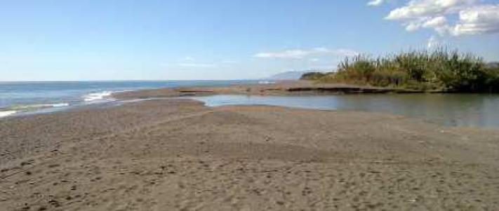 Playa bajamar Almayate