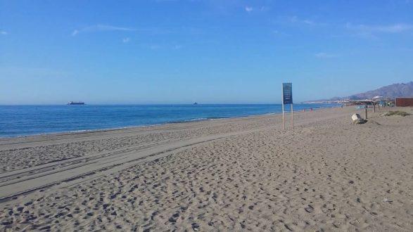 Playas gay de Andalucía: Playa del Playazo de Vera