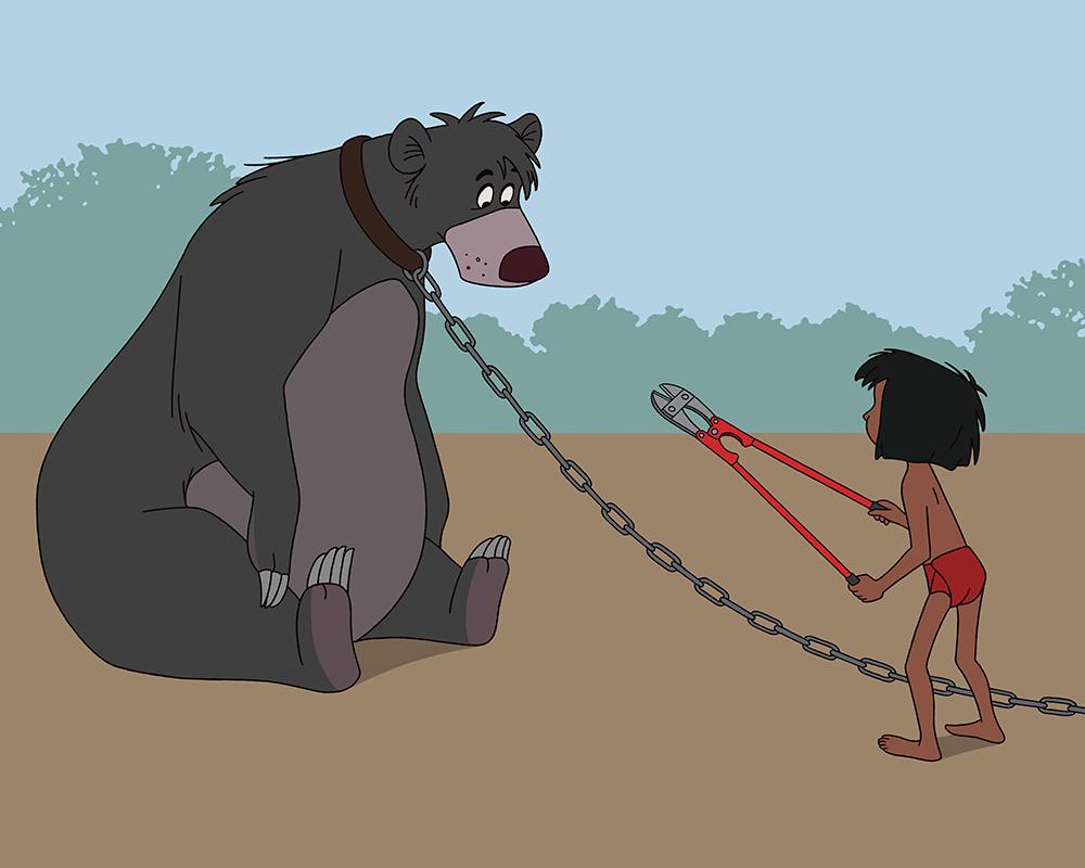 Cómo serían los clásicos de Disney en pleno siglo XXI
