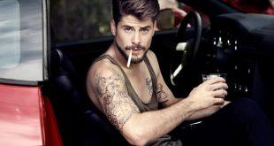 El actor Luis Fernández se desnuda en Instagram