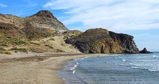 Playa de Barronal en Almería
