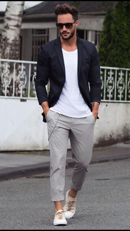 Camiseta manga corta dentro del pantalon