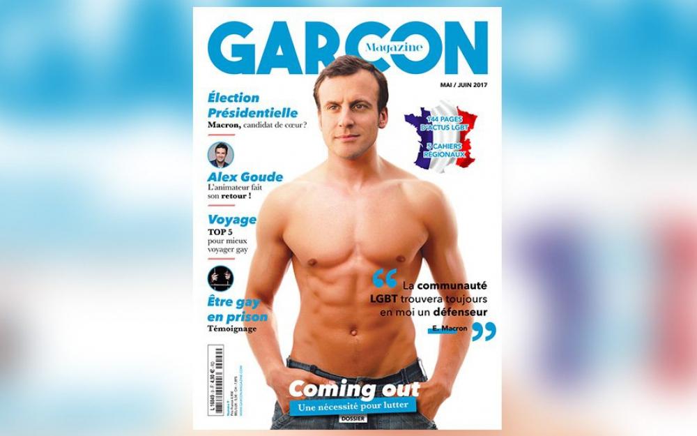 Sombra aquí y sombra allá, Macron, maquíllate