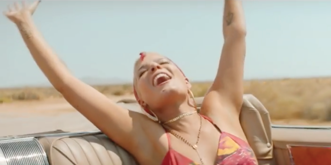 Halsey estrena el video de 'Bad At Love'