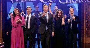 El reparto de 'Will & Grace' interpreta la canción de la serie por primera vez
