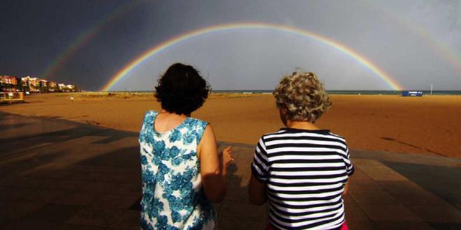 Photo of El tiempo del arco iris, 40 años de lucha