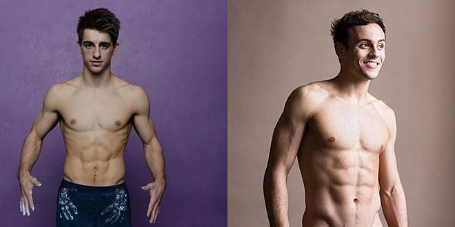 Photo of Las fotos más sexys de Instagram de los deportistas Max Whitlock y Tom Daley
