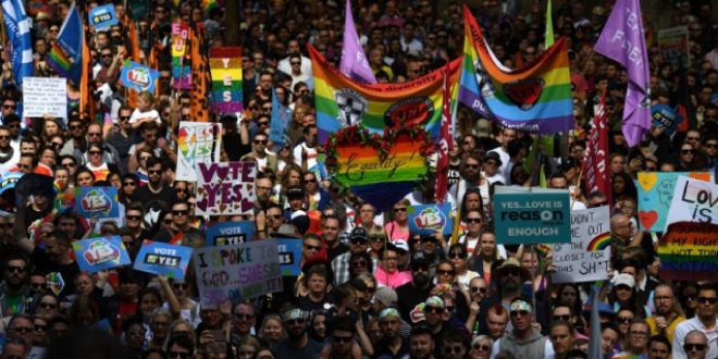 Photo of Más de 200.000 personas piden el matrimonio igualitario en Australia