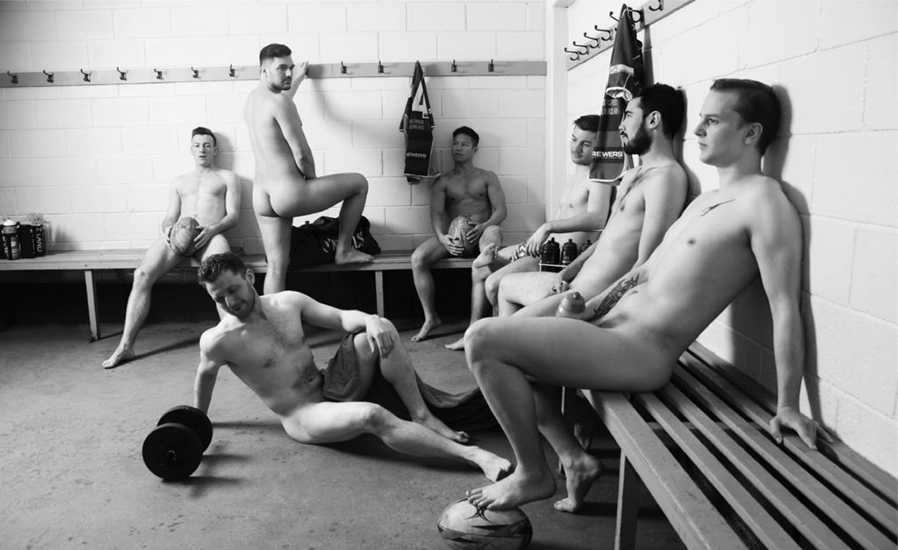 Jugadores de Rugby Gay