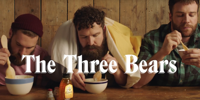 Photo of Llega el cuento de los tres ositos con bears para un anuncio