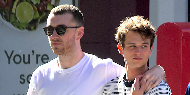 Photo of Sam Smith y Brandon Flynn, pareja gay de moda