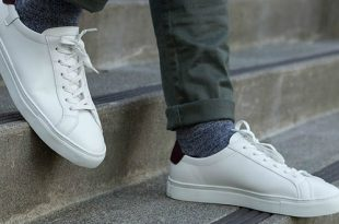 zapatillas blancas tendencia otoño