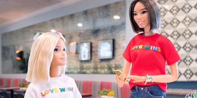 Barbie se posiciona a favor del matrimonio igualitario