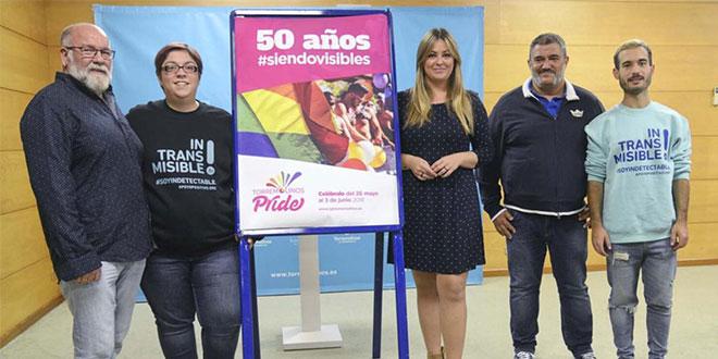 Torremolinos conmemorará los 50 años de lucha del colectivo LGTBI en el 'Pride 2018'