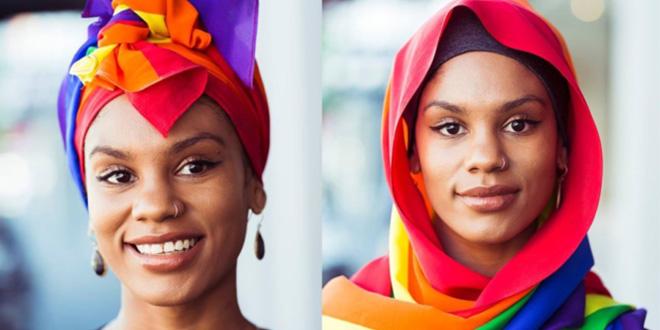 Photo of Una marca musulmana crea el hiyab arcoíris en apoyo al matrimonio igualitario