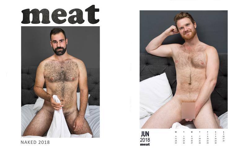 Un calendario de chicos desnudos que celebra la normalidad