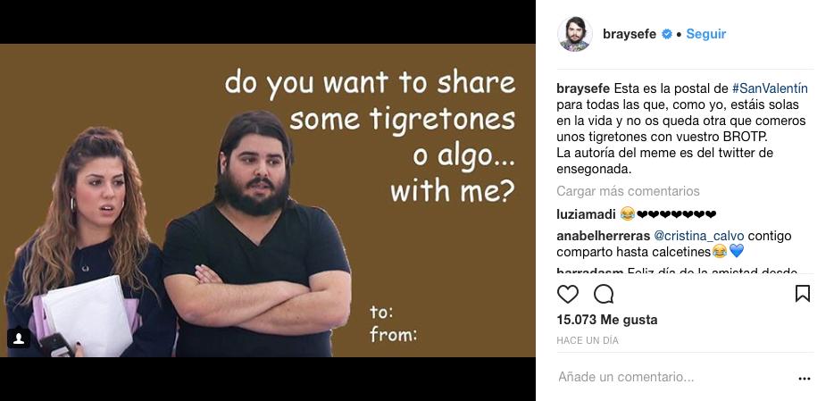 Los mensajes de San Valentín más LGTB+ de los famosos en Instagram
