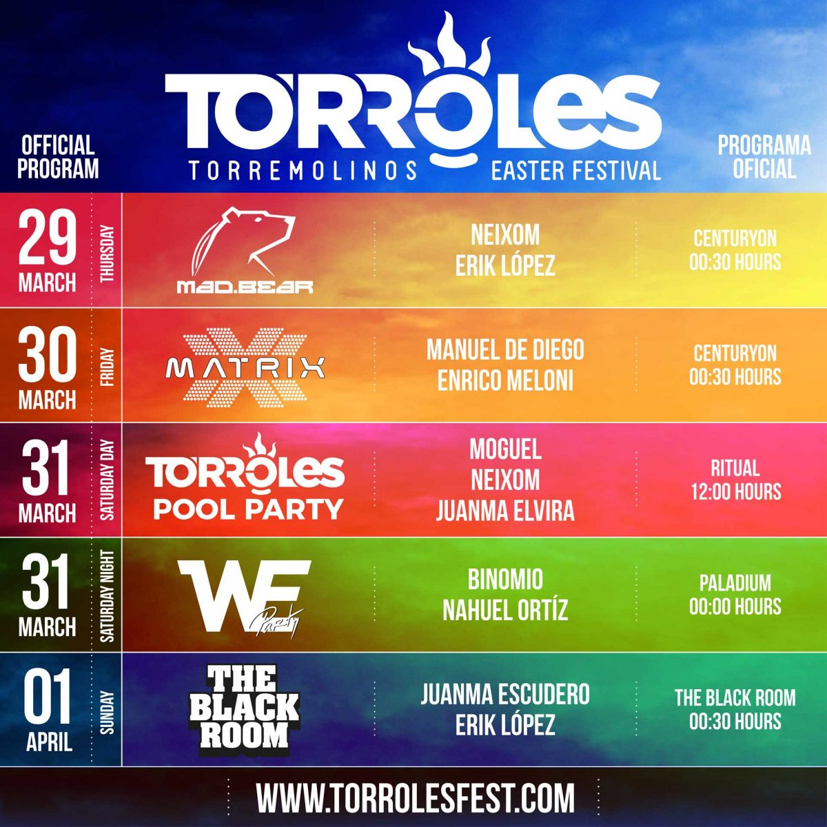 Torroles Fest el nuevo Festival LGTBI en Torremolinos