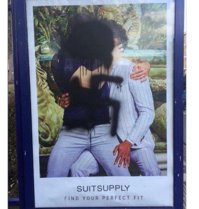 Amsterdam, Homofobia y la campaña de Suitsupply