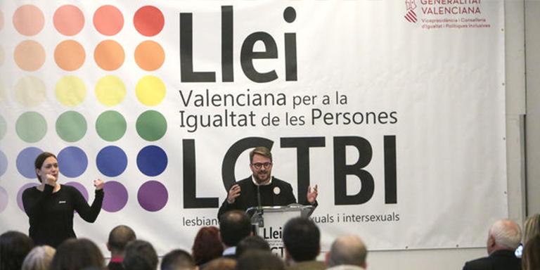 ley LGTBI valenciana