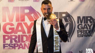 Miguel López Muñoz es el nuevo Mr. Gay Pride Murcia 2018