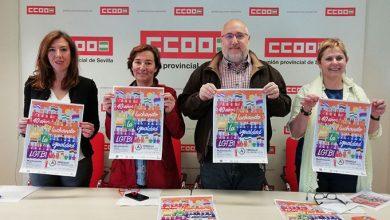 Photo of CCOO y UGT Sevilla se unen un año más a la manifestación del Orgullo LGTBI de Andalucía 2018