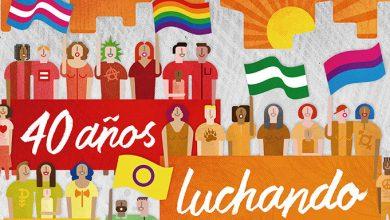 Photo of El cartel del Orgullo LGTBI Andalucía 2018 es un reconocimiento a 40 años de avances
