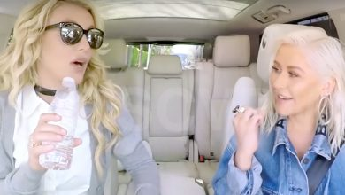 Christina Aguilera Britney Spears Carpool Karaoke
