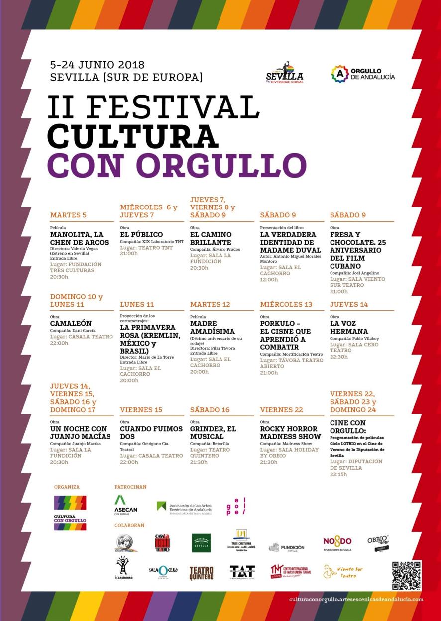 Festival Cultural con Orgullo