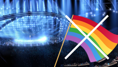 Photo of LGTBfobia en Eurovision. Prohiben la entrada de banderas arco iris en la segunda semifinal