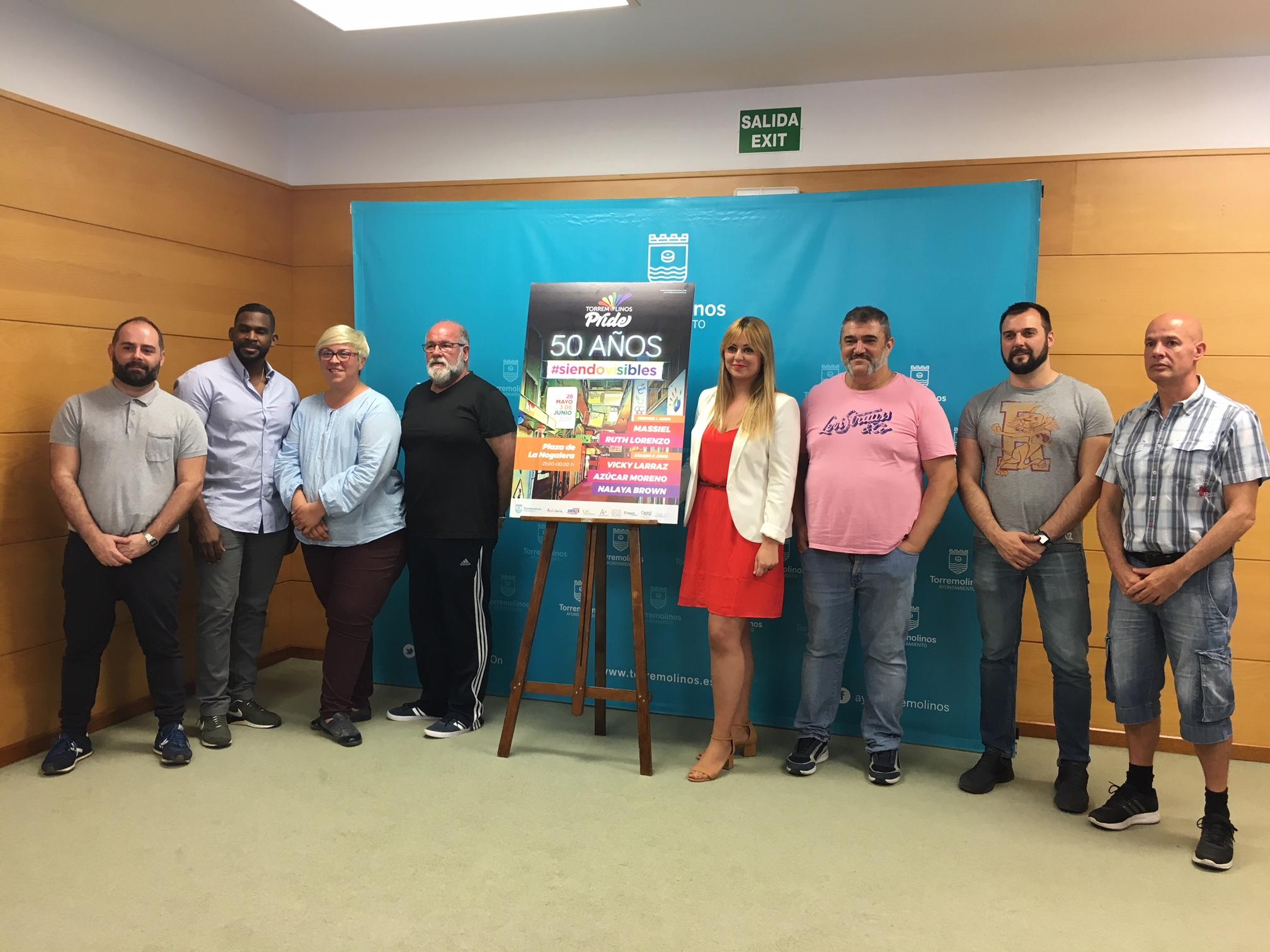 Presentada la programación de actividades del Pride Torremolinos 2018