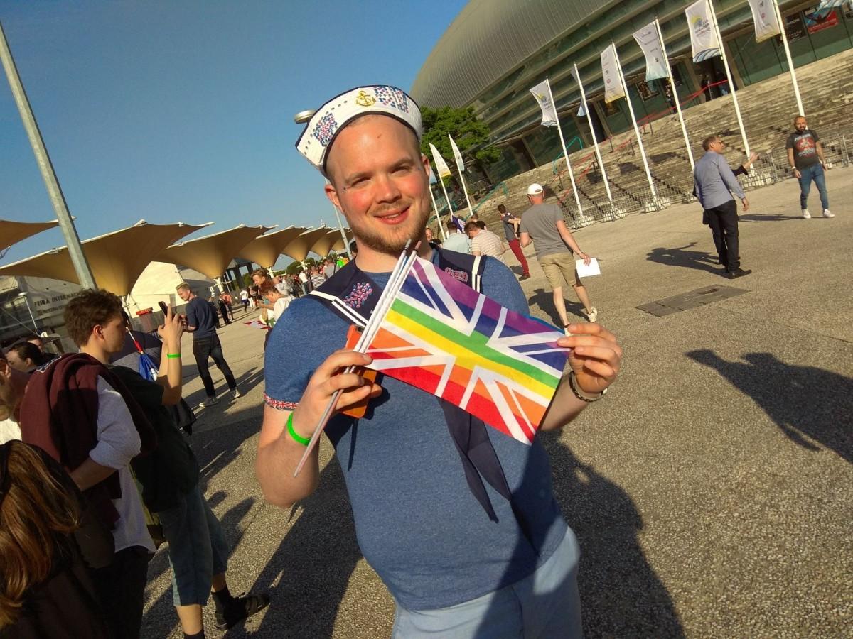 Prohibida la entradas de banderas LGTB+ en la segunda semifinal de Eurovisión en Lisboa