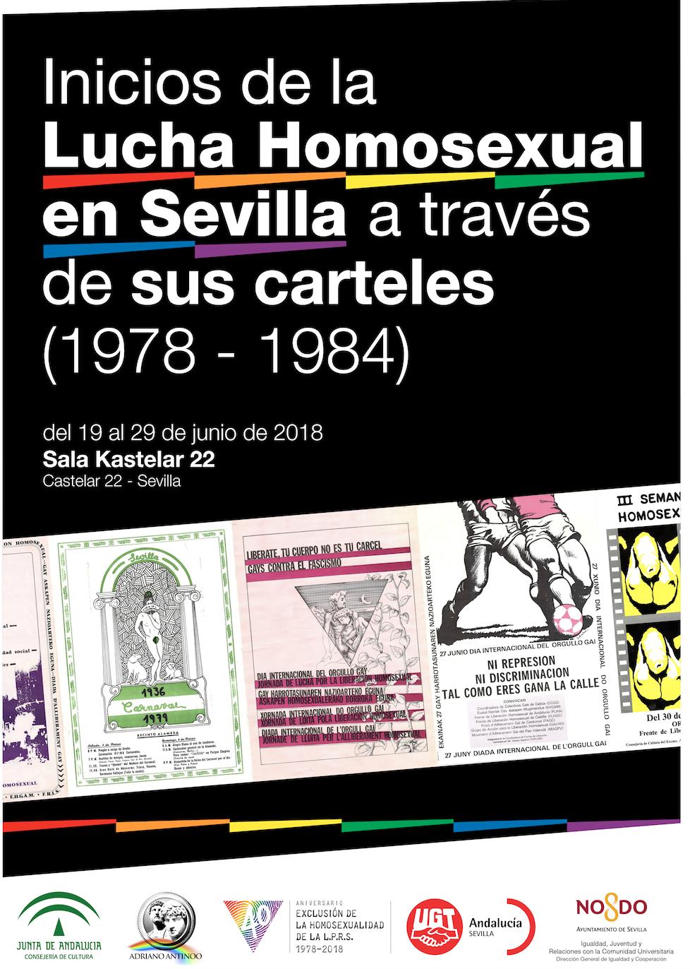 Adriano Antinoo Inicios de la Lucha Homosexual Sevilla