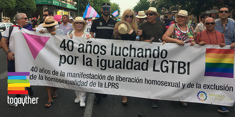 El Orgullo LGTBI de Andalucía reúne a más de 18.000 participantes