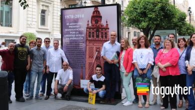 Photo of Inaugurada la Exposición 40º Aniversario de la primera manifestación por la Libertad Sexual en Andalucía