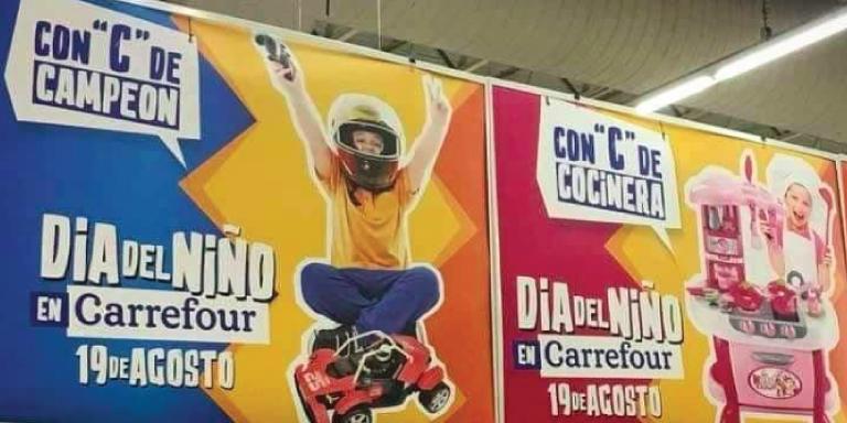 Retirada la campaña sexista de Carrefour en Argentina
