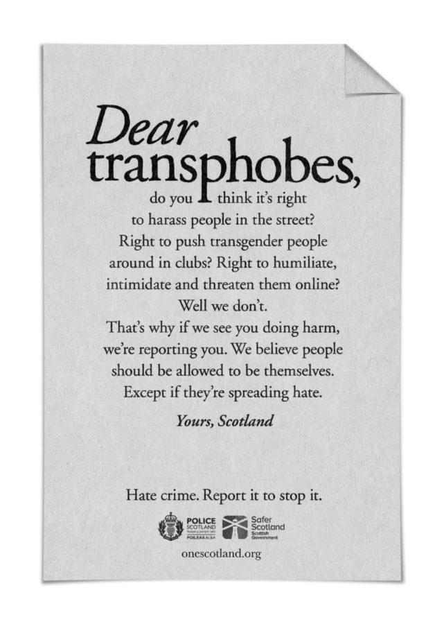 Publicidad contra la homofobia