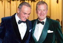Ivar Mountbatten y James Coyle
