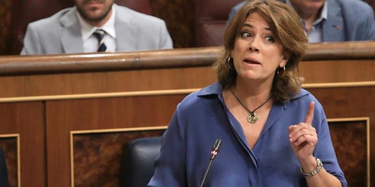 Ministra de Justicia Dimisión Marlaska