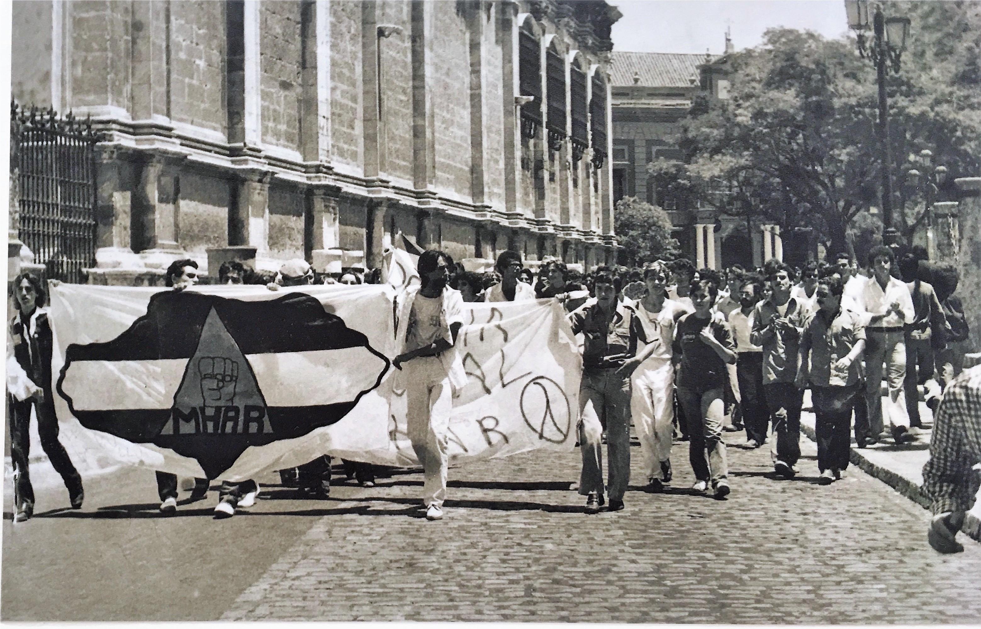 Manifestación del MHAR